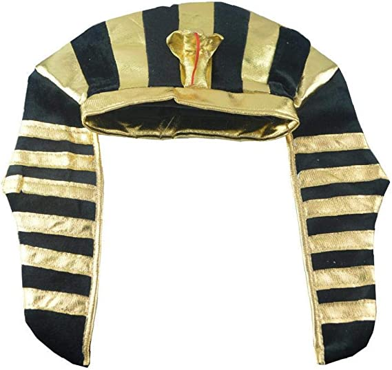 Coiffe Pharaon Adulte Homme Smiffys Costume Robe fantaisie chapeau