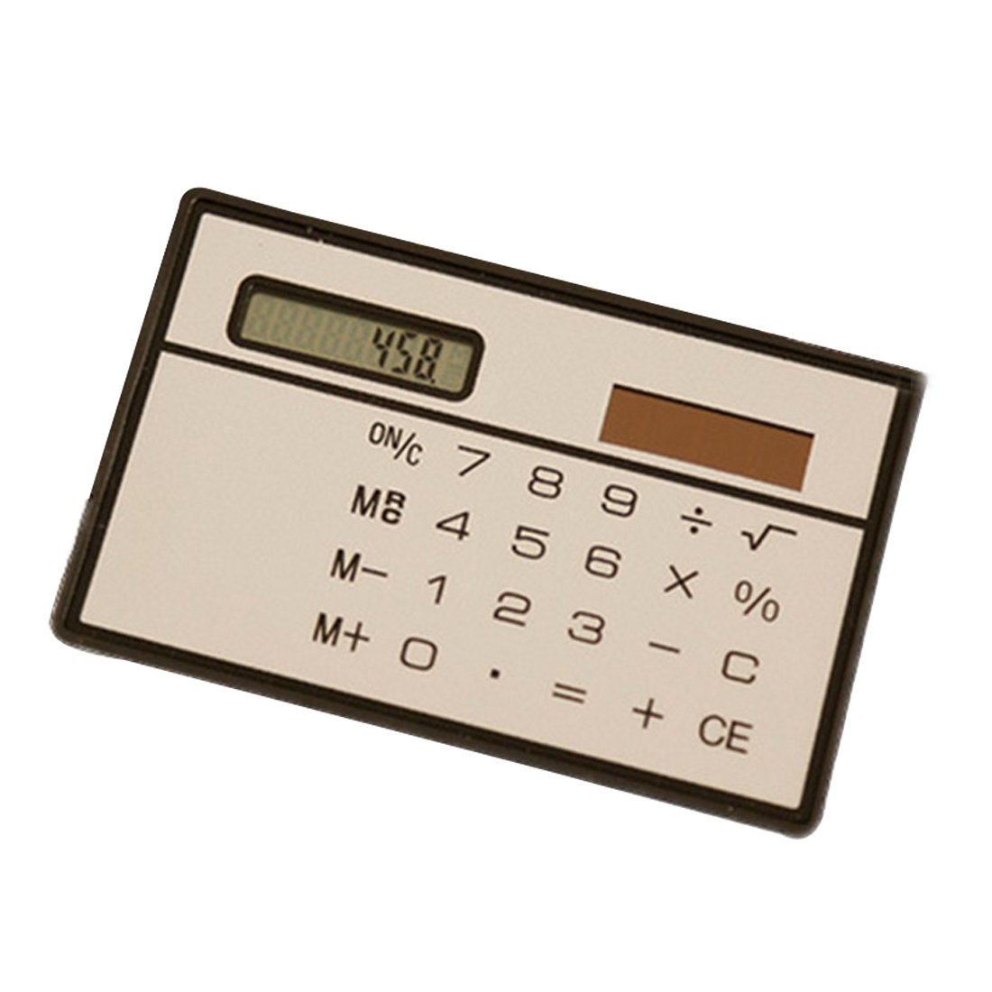 Student Stationery Mini Solar Electronic Calculator Pocket 8 Bit Random Color