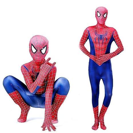 Tengda Traje De Spiderman De Cuerpo Completo para Niños ...