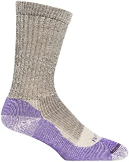 product image for Farm to Feet Women's Boulder No Fly Zone Lightweight Hiking Merino Wool Crew