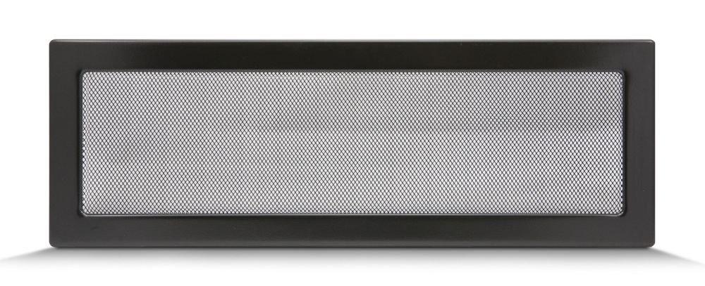 Diff/érentes tailles : 17 x 11 cm Avec ou sans lamelles Grille de ventilation pour air chaud Noir Grille de chemin/ée r/églable 17 x 30 cm 17 x 17 cm 17 x 50 cm