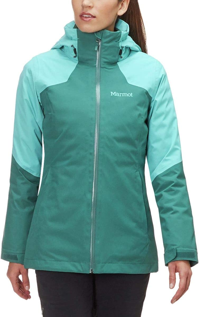 Marmot Featherless Component Jacket – Women 's Amllard 緑/Meadowbrook X-Large