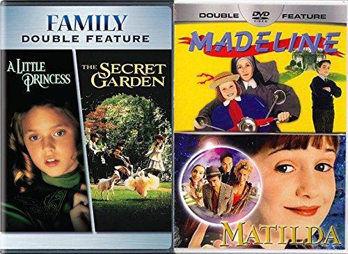 Madeline Honey (Slumber Party Kids Night Pack The Secret Garden & A Little Princess / Matilda / Madeline DVD Set Classic Family Fantasy Bundle 4 Film Favorites)