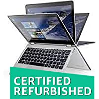 "(CERTIFIED REFURBISHED) Lenovo Yoga 710- 95IH 7thGen Corei5,4GB RAM,256GB SSD,14"" Touch Windows 10 Convertible Laptop"