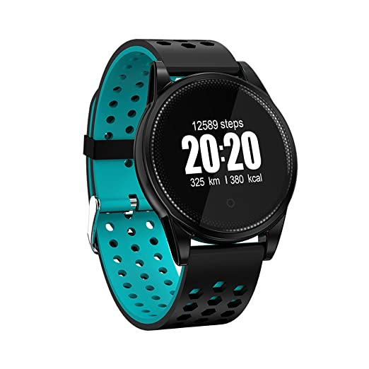 Fitness Tracker Bluetooth Frecuencia Cardíaca Tensiómetro Fitness pulsera Dormir Monitor Fitness Reloj Podómetro inteligente reloj (