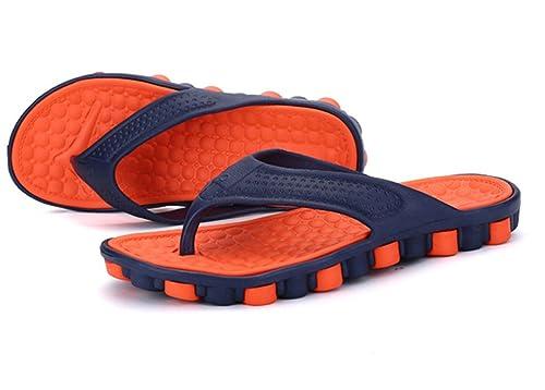 AILU Cinturino A T Uomo, Arancione (Orange), 40/41 EU
