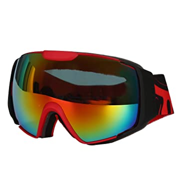 69bc0d85df North Wolf OTG Ski Goggles Over Glasses with Googles Case - Skiing ...