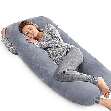 US Pregnancy Pillow Support Full Body Pillow for Maternity/&Pregnant Women