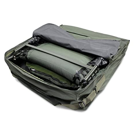 Brilliant Abode Deluxe Padded Carp Fishing Camping Chair Bedchair Carry Bag Gmtry Best Dining Table And Chair Ideas Images Gmtryco