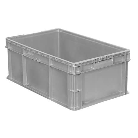 974cccb0fcb9 Buckhorn SW241507F101000 Plastic Straight Wall Tote Storage Container, 24