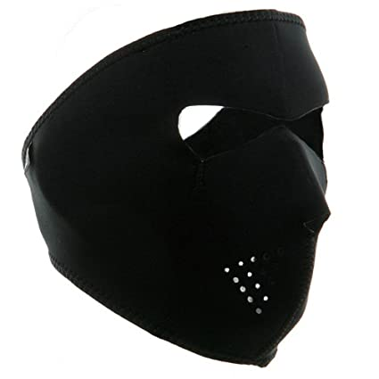 Trendyest Máscara de Neopreno Reversible 2 en 1 para Ciclismo, Senderismo, Caza, Cara