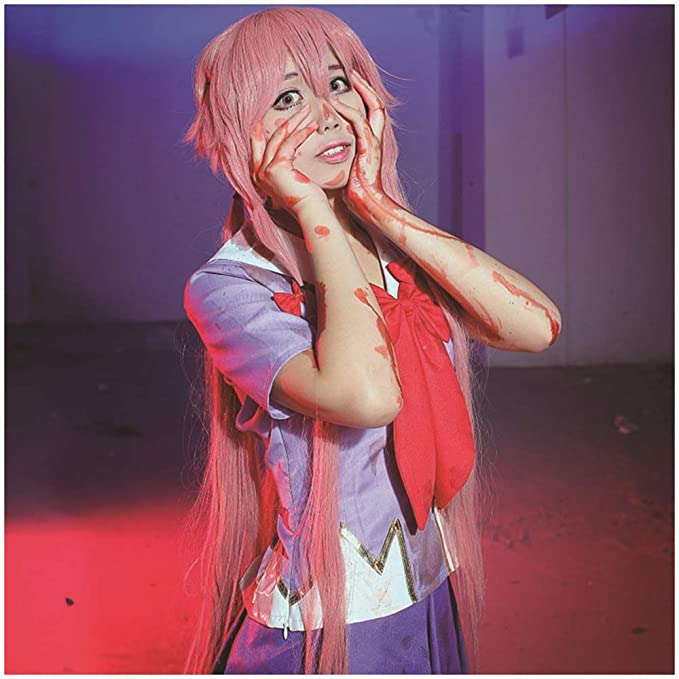 Vokaer The Future Diary Gasai Yuno Cosplay Disfraz Mirai Nikki ...