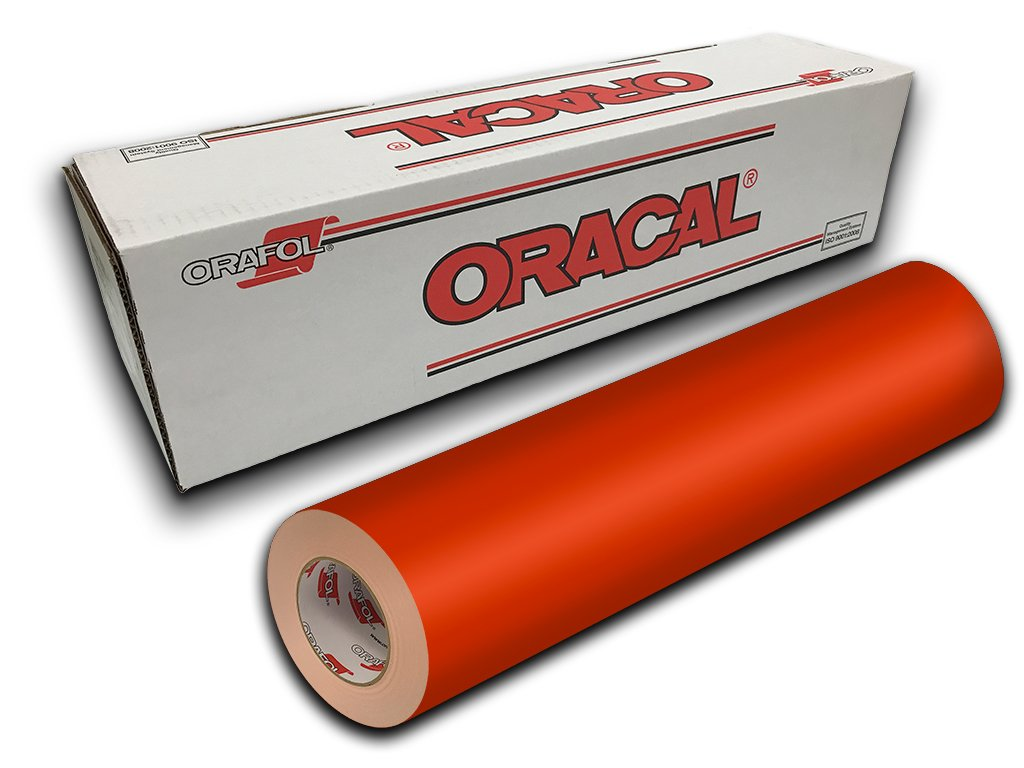 Oracal 651- 24'' x 10yd - Orange 034