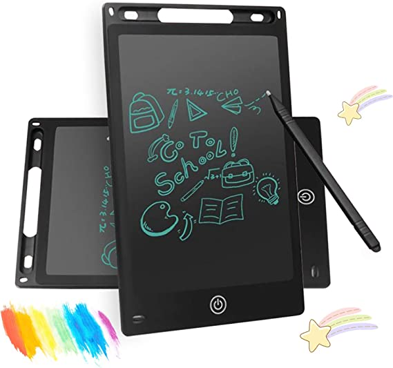 Amazon - $12.99 VONCOS 8.5″ Electronic LCD Writing Tablet for Kids, Doodle Board Erasable Reusable Electronic Drawing Padwith Lock Erase Button, Educational and Learning Toy for 2-6 Years Old Boy and Girls