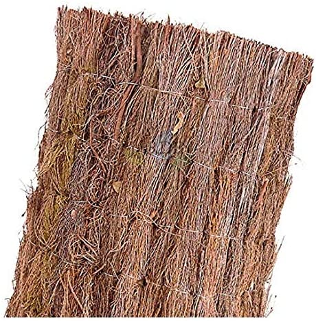 MALLA OCULTACION total 100% de BREZO rústico nacional (1 x 3 m): Amazon.es: Bricolaje y herramientas