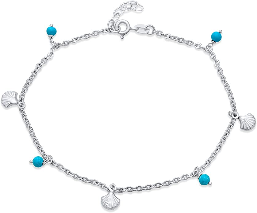 Size 10 inches 1 Plain and 1 with Silver Tone Charm Pinky Promise Charm Anklet Set Bright Summer Colour Mix Glass Seed Beads
