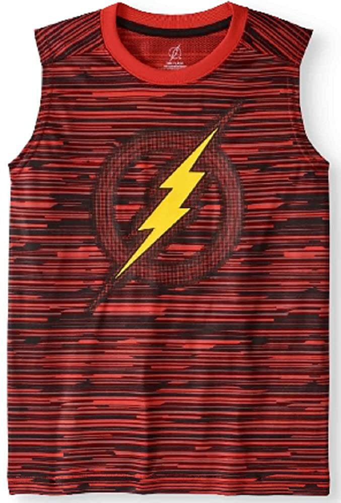 Boys Flash Logo Muscle Tank (Large 10/12)