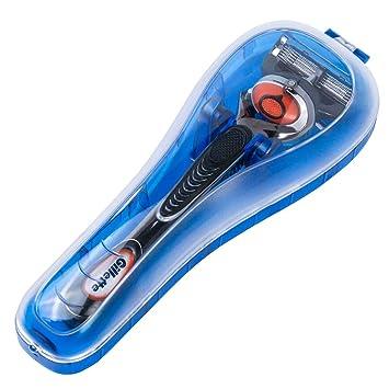 youmang - Estuche de Viaje con maquinilla de Afeitar Manual, Protector de plástico con maquinilla de Afeitar Manual - Adecuado para Gillette ProGlide, ...