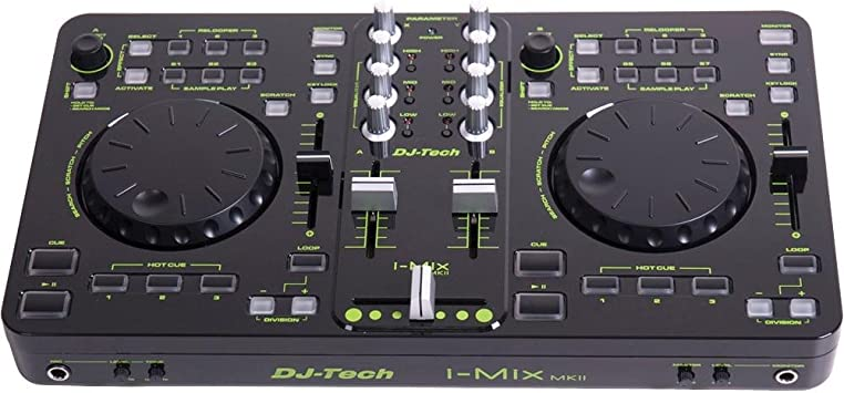 Amazon.com: DJ TECH imixmkii USB/MIDI driver de DJ y ...