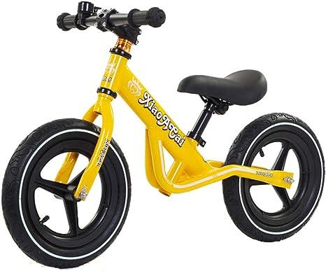 DBGBZM Balance Bike-No Pedal Sport Bicicleta Andar Bicicleta para niños Glider Bike Altura Asiento Ajustable niños Niños y niñas Edad 2-5 Negro Rojo Verde Amarillo: Amazon.es: Deportes y aire libre