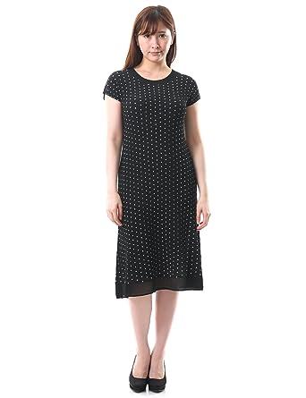 5979a8d9e69 SPECCHIO PLEATS Pleated Flare A-line Polka dots Dress Womens S M L XL 1X 2X  3X