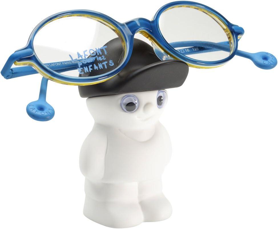 La Chaise Longue Porte lunettes bonhomme blanc:
