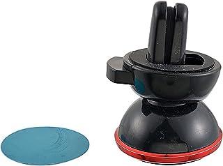 Yeenee support magnétique de grille d'aération de voiture universel pour téléphone portable red