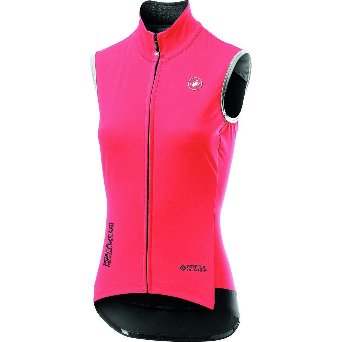 Castelli Perfetto ROS Vest - Women's Brilliant Pink, S by Castelli