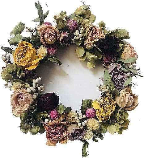 wreath decoration artificial flower wreath rose wedding wreath Floral wreath flower wreath wreath lavender wreath hydrangea
