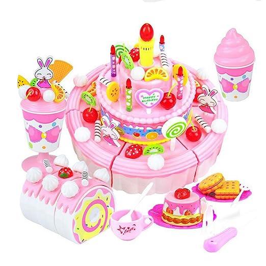 Kuchen Obst Schneiden Spielzeug Synthetische Kuche Box Tragbar