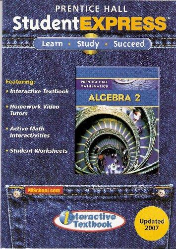 Prentice Hall Student Express: Algebra 2