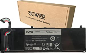 OUWEE CGMN2 Laptop Battery Compatible with Dell Inspiron 11 3135 3137 3138 Series Notebook 0CGMN2 0N33WY N33WY NYCRP 0NYCRP 11.1V 50Wh 4452mAh 4-Cell