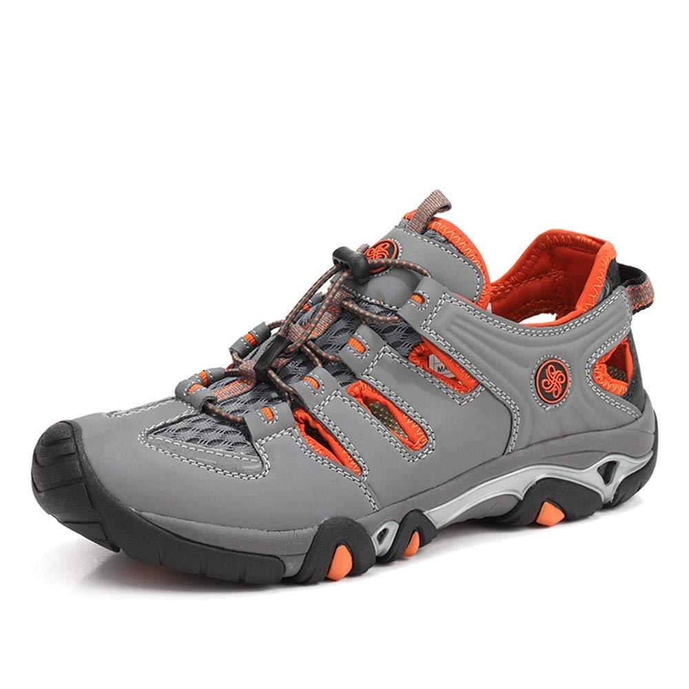 Mens aushöhlen aushöhlen aushöhlen geschlossenen Toed Outdoor Schuhe Quick Dry Non Slip Turnschuhe (Farbe   Blau, Größe   EU 40) B07HML52CL Sport- & Outdoorschuhe Leicht zu reinigende Oberfläche 464dbb