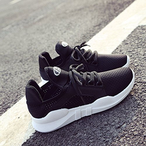 bottom pure casual shoes casual mouth eight lady shallow shoes round head Dony comfortable Ladies thick Thirty xRqwYFUC