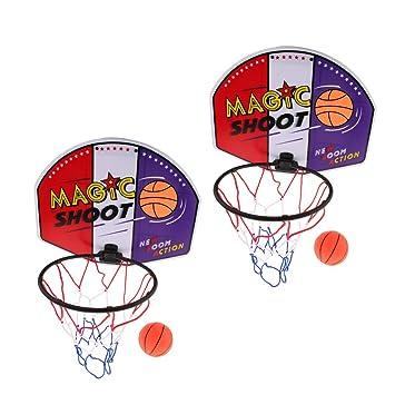2 Juego de Mini Canasta de Baloncesto para Niños a Pared o ...