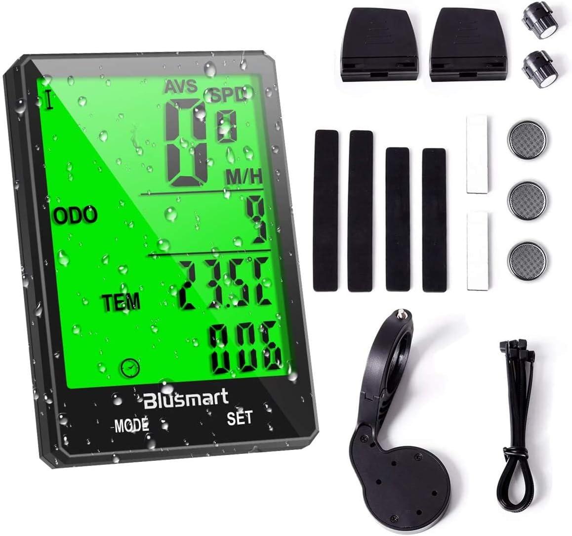 Smart GPS Bluetooth Fahrrad Computer Kabellos Digital Tacho Haltbar Satz G