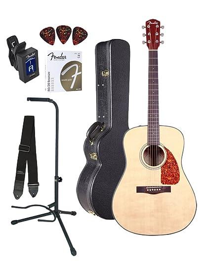Amazon.com: Fender cd-140s Dreadnought Guitarra Acústica ...