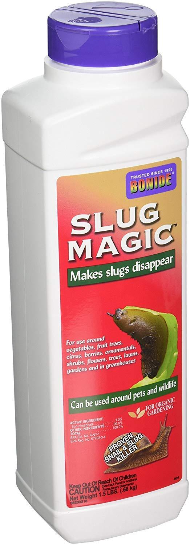 Bonide Slug Magic Slug & Snail Killer Pellets