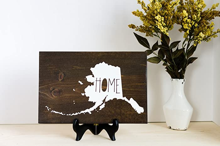 Fine Amazon Com Alaska Home Decor Wall Hanging Alaska Decor Home Interior And Landscaping Ologienasavecom