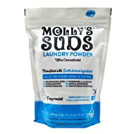 Molly's Suds Original Laundry Powder 70 Loads, Natural Laundry Soap for Sensitive Skin