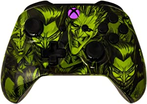 Glossy Joker 5000+ Modded Controller for Microsoft Xbox One - Custom Design that Works on All Shooter Games