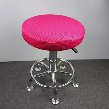 Lominc 12 Round Bar Stool Cover Breathable Fabric To Proctect Or