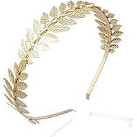 Pixnor Foglia corona capelli Barrette ramo delicato capelli nuziale corona testa vestito Boho Alice Band