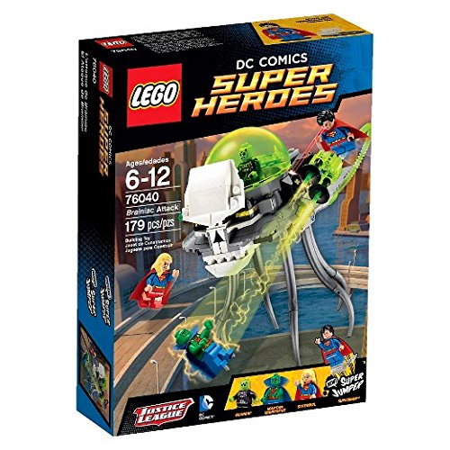 LEGO 76040 Heroes Brainiac Attack product image