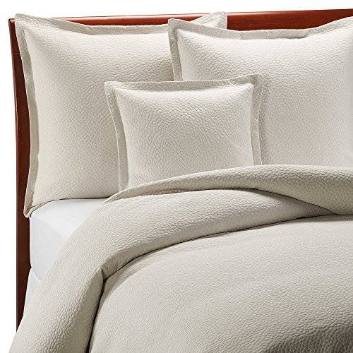 Barbara Barry Beautiful Basics Cloud Nine Queen Pillow Sham in Pearl