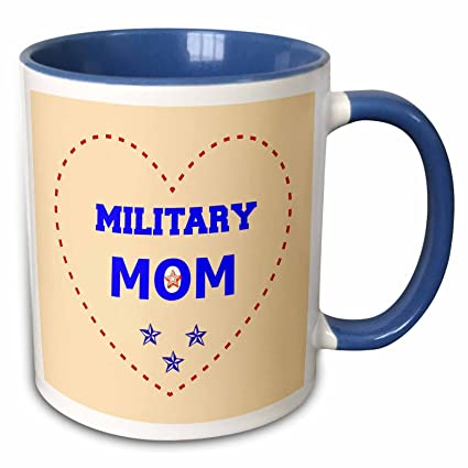 Amazoncom 3drose Rinapiro Quotes Proud To Be A Military Mom