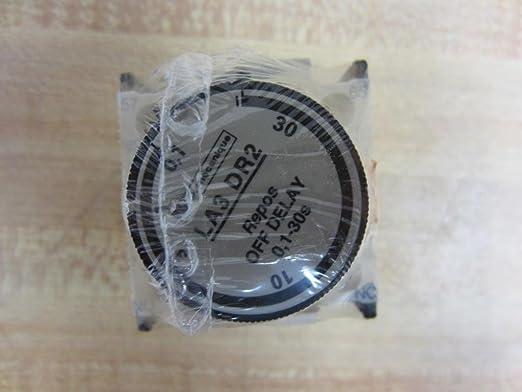 Telemecanique la3 dr2 0,1-30s relés de tiempo