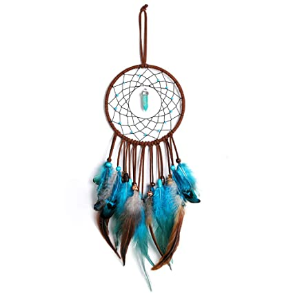 Amazon Com Dream Catcher Handmade Of Life With Feathers Wall