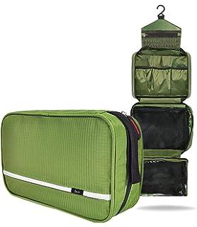Neceser Viaje Hombre y Mujer,Neceser Maquillaje Pack Neceser Baño Toiletry Kit, Boic Pequeño Bolsas de Aseo Impermeable, Bolsa de Viaje,Cosmético Organizadores de Viaje Travel Toiletry Bag (Azul): Amazon.es: Equipaje