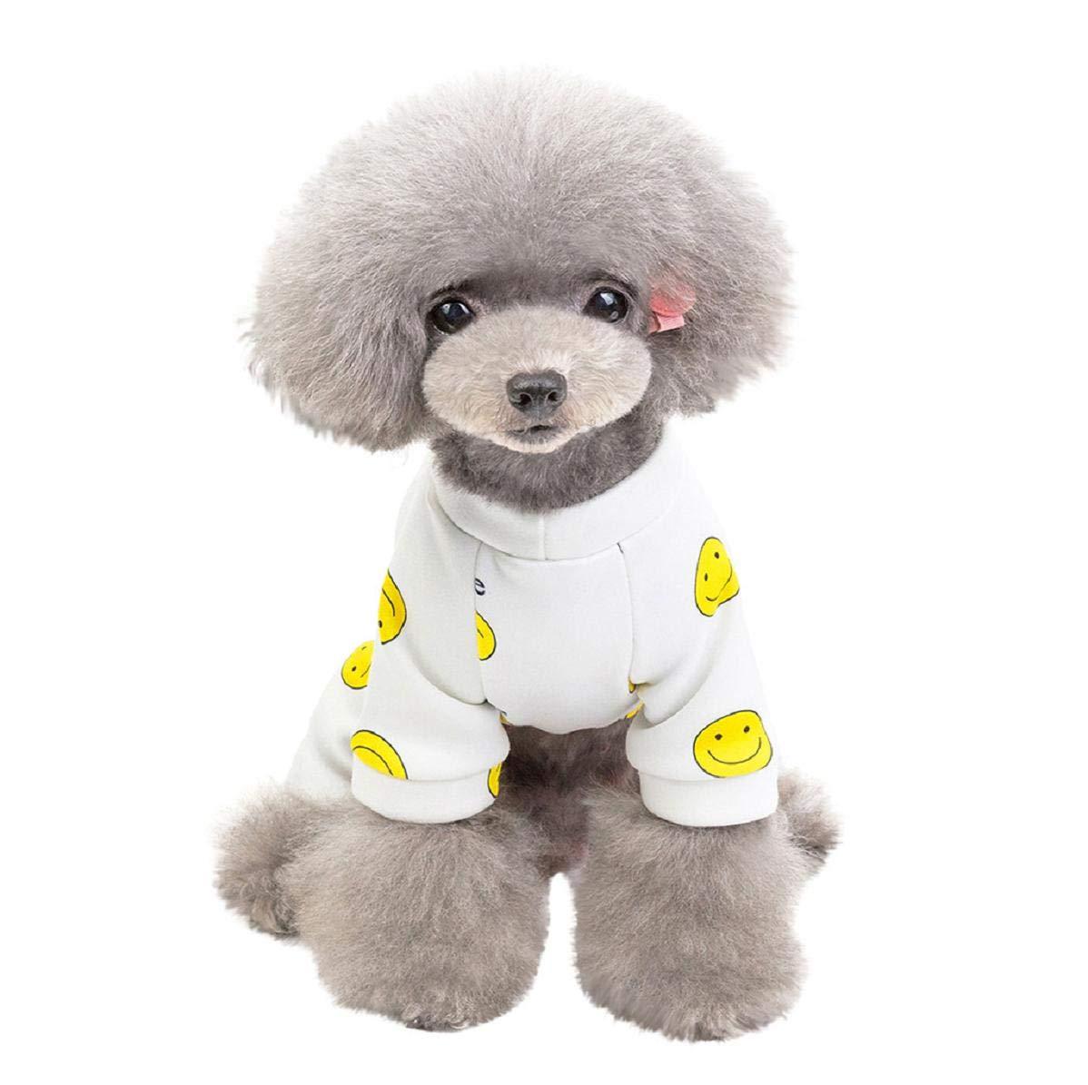 Koojawind Disfraz De Mascota Perro Disfraz De Gato Mono De Perro Traje De Mascota Pijama Ropa Disfraz Ropa Invierno Sudadera con Capucha Abrigo para Perros Y Gatos